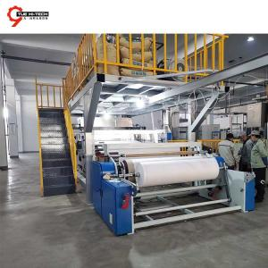 Fast delivery BFE 99 1600mm PP melt blown non-woven fabric making line