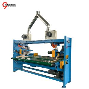 NONWOVEN RECYCLING SIDE CUTTER AND SUCTION