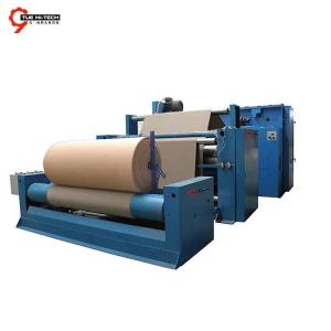 NONWOVEN WINDING AND CUTTER FOR ARTIFICIAL LEATHER LINE