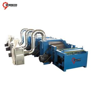 TEARING MACHINE FOR TRIM TEXTILE MATERIAL